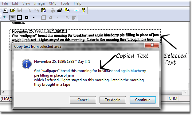 Extract Text Form Images/ Scanned Documents Step 2