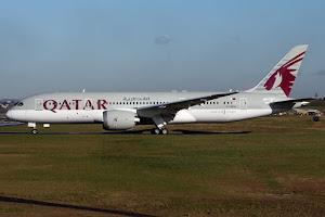 Boeing 788 Qatar