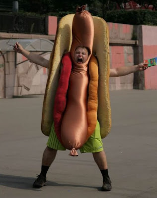 Disfraz de Hot Dog Strauffon blog