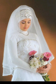 فساتين زفاف محجبات 2013
