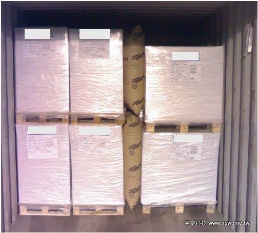 BATES貨櫃充氣袋 使用案例