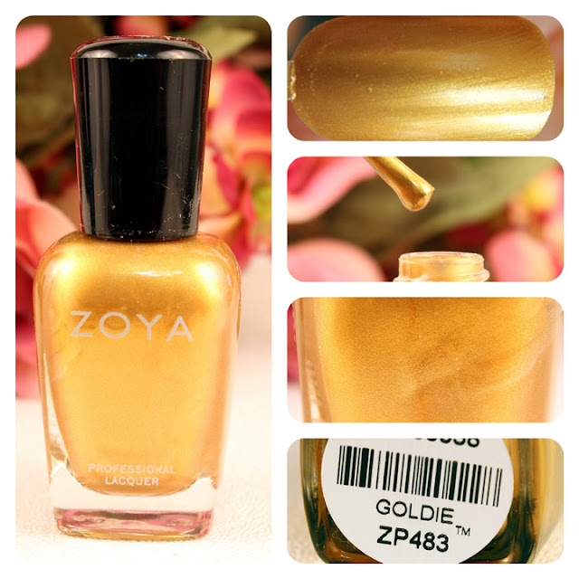 Zoya Goldie Nail Polish