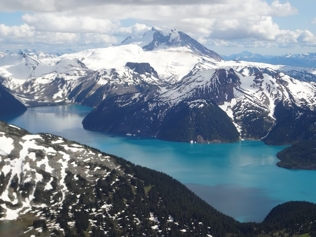 Garibaldi Lake from Black Tusk summit
