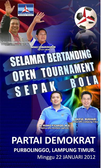 Desain Demokrat Lampung Timur,