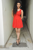 Saiyami Kher Hot in Red at Rey Trailer launch-thumbnail-9
