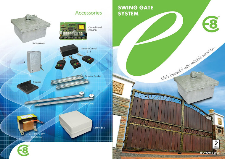 Swing Gate System - Underground Ground