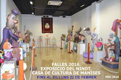 14.02.16 INAUGURACIO DE L'EXPOSICIO DEL NINOT EN LA CASA DE CULTURA DE MANISES