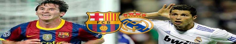 Todos los encuentros del Real Madrid y Fc Barcelona