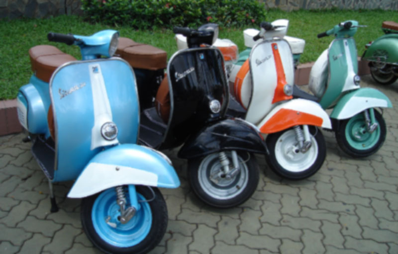 Modifikasi Vespa scooter