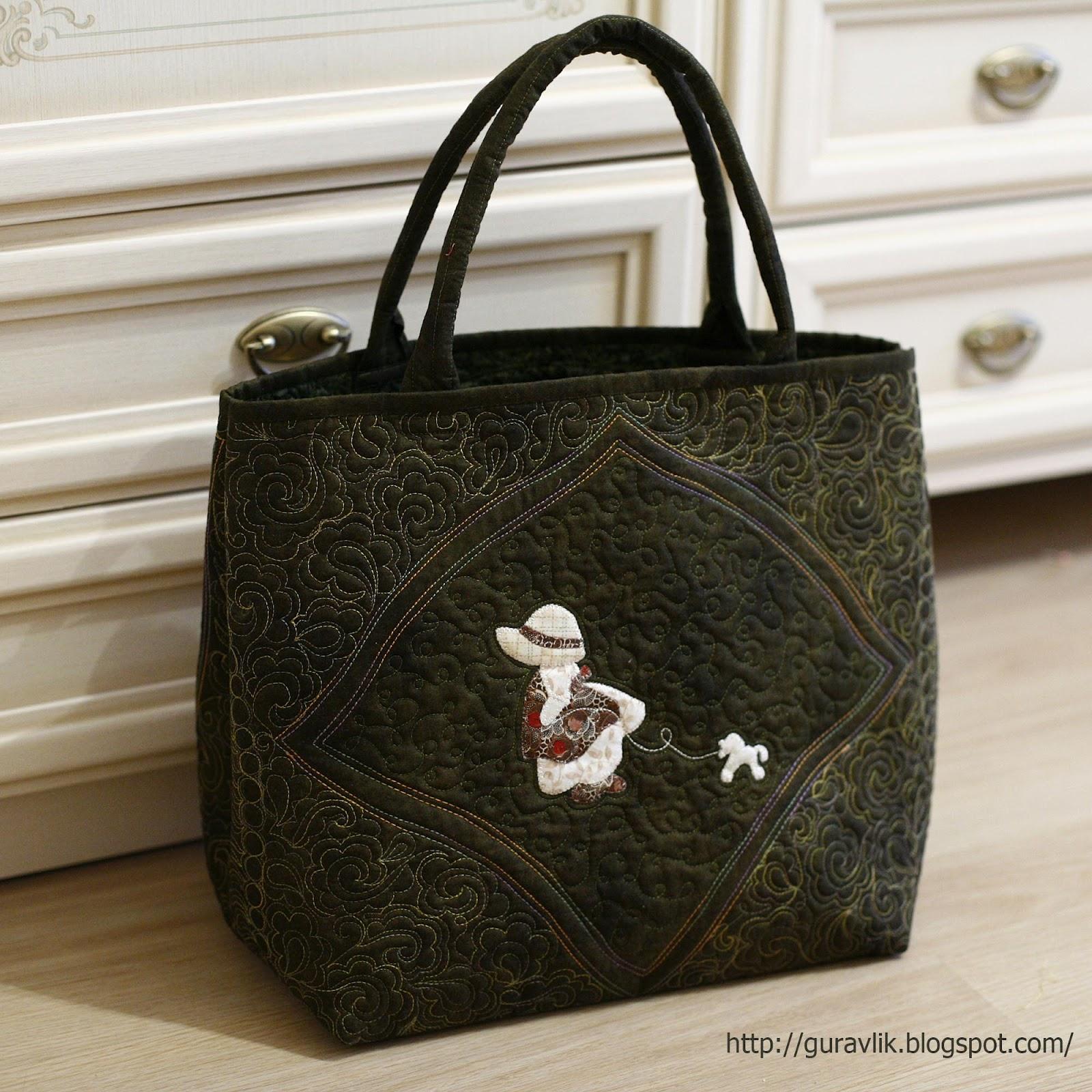 Лоскутная сумка мастер класс