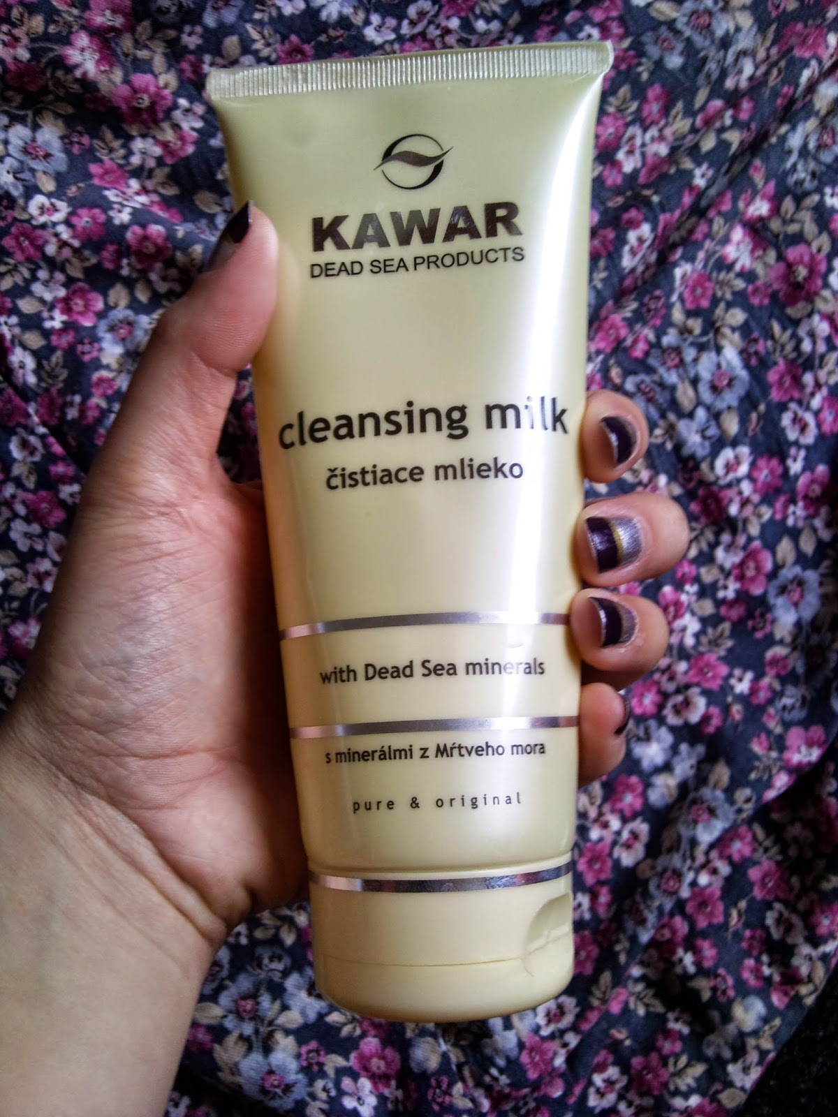 Kawar- čistiace mlieko :)
