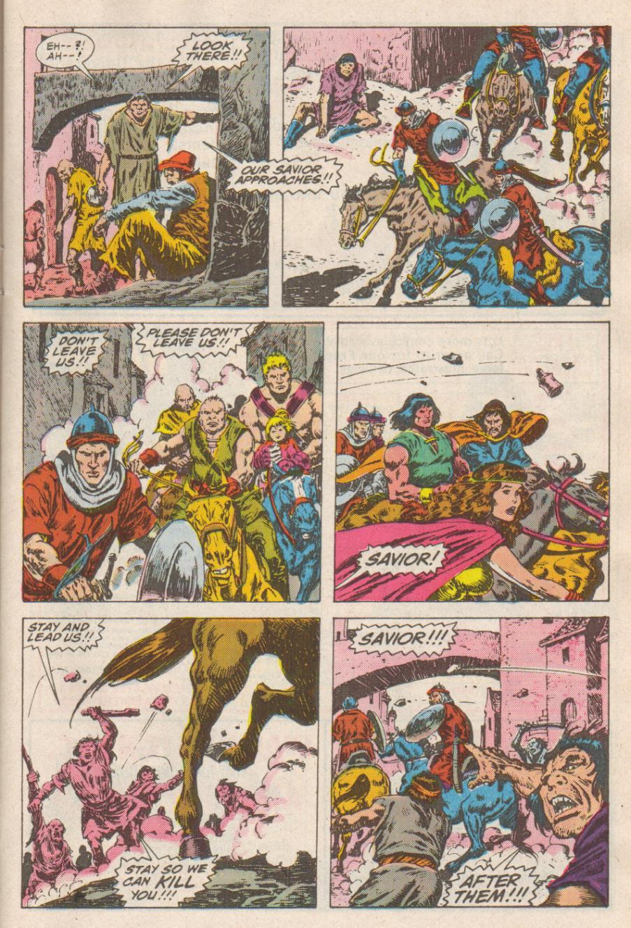 Conan the Barbarian (1970) Issue #190 #202 - English 9