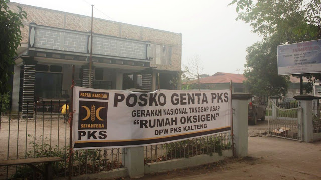 PKS Kalteng Sulap Hotel Jadi Tempat Singgah Korban Asap