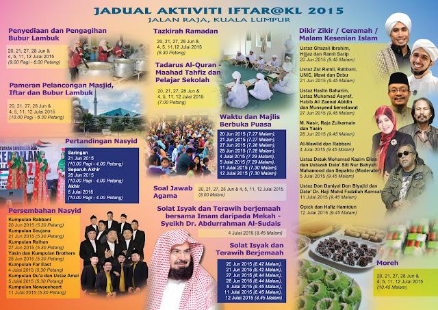 Iftar@KL 2015 Di Jalan Raja, Kuala Lumpur