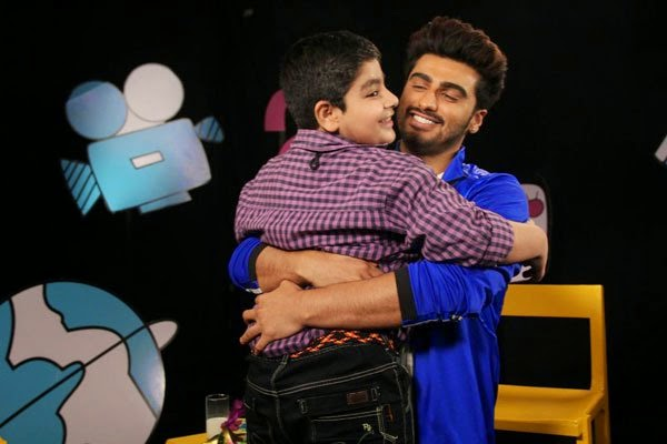 Arjun Kapoor on the sets of Captain Tiao