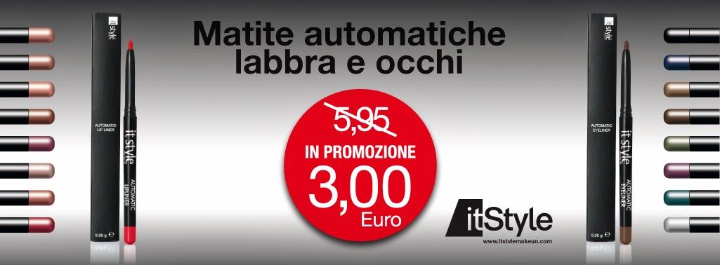 ItStyle - Matite automatiche labbra e occhi a 3€