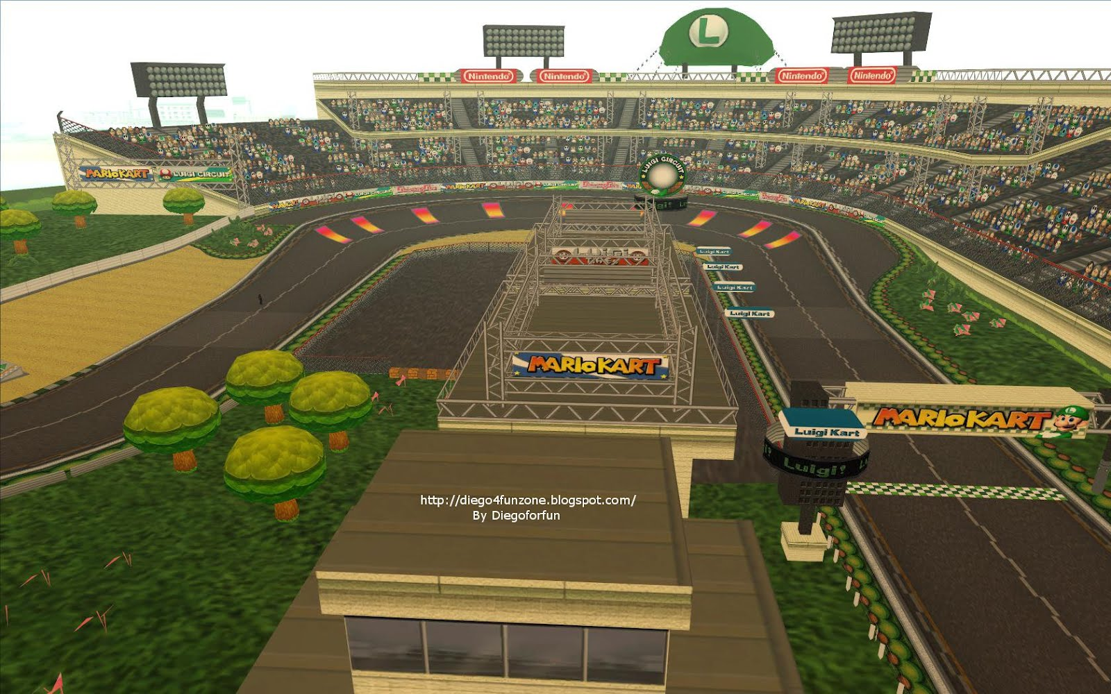 Diego4fun Zone Mapmario Kart Wii Luigi Course Mario Circuit I Made A How To Install File That Youll Find Inside The Rar With Instructionsi Recommend Using Sa Teleporterbugs Free Perfect Colision