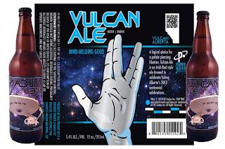 Vulcan Ale Star Trek