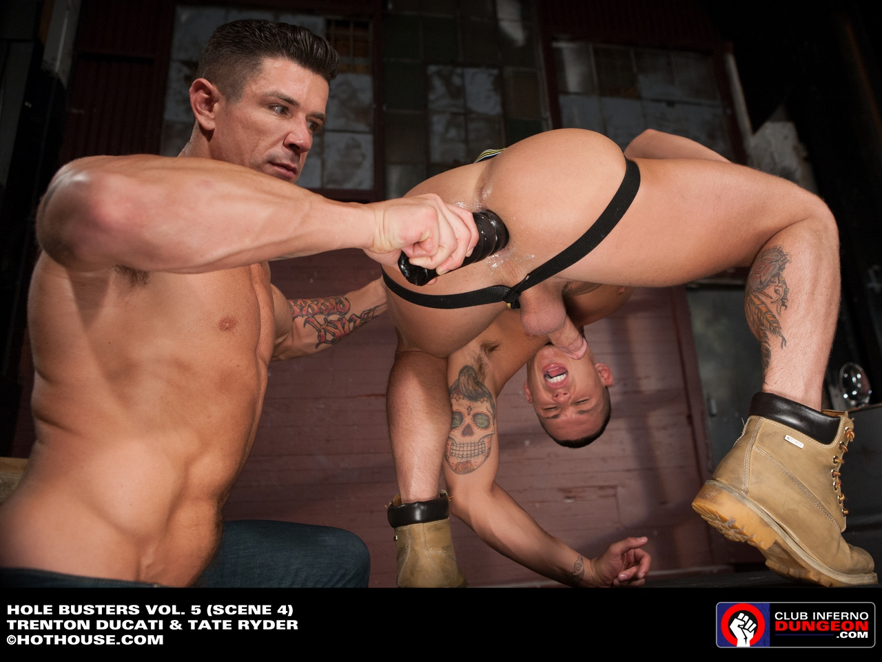 from Dallas muscle gay dildo