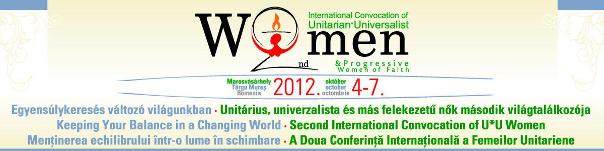 Unitárius, unitárius-univerzalista és más felekezetű nők második világtalálkozója