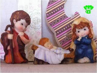 Religious Christmas Mantel