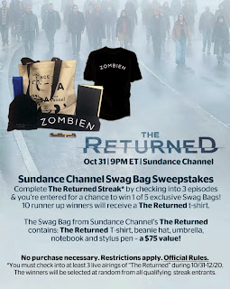 The Returned, Viggle, Viggle Mom, Sundance Channel