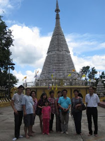 Jeff and his family in Hat Yai