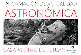 Información de actualidad astronómica