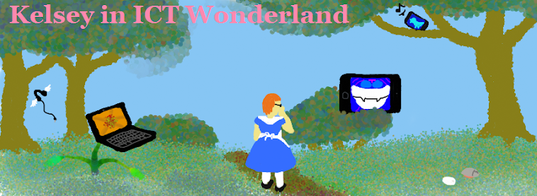 Kelsey in ICT Wonderland