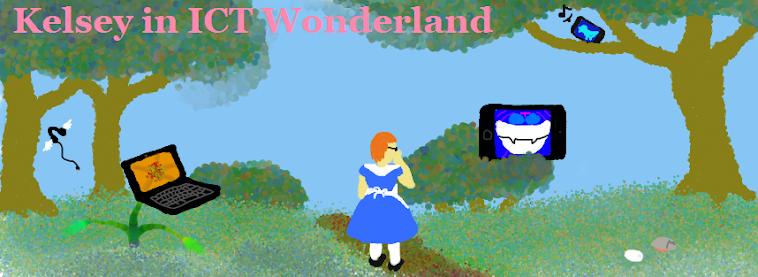 Kelsey in ICT Wonderland