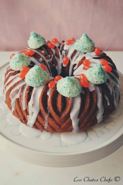 Crazy coco bundt cake