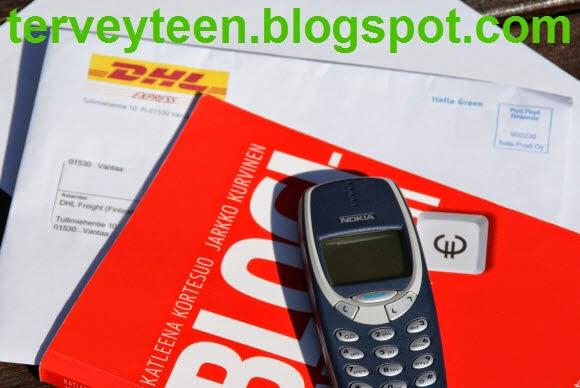 DHL Express lähettää tekstiviestin ja kysyy henkilötietoja