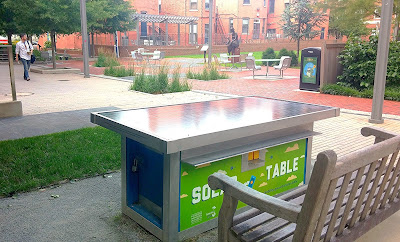 Solar Table at GWU