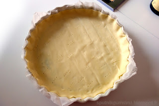 Луковый тарт-приготовление
