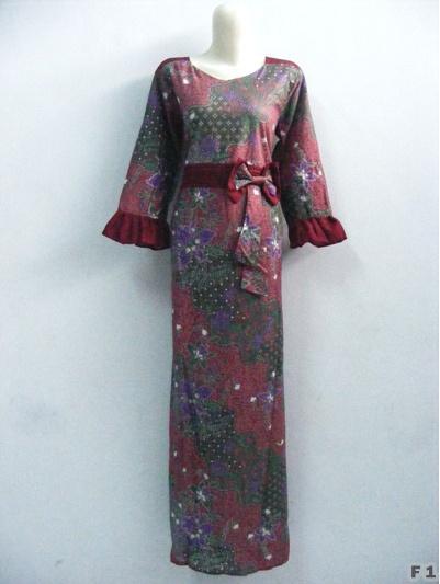 Batik Gamis Modern Toko Online Baju Muslim Modern Baju