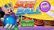 Win FREE Tickets for Chuck E Cheese! Check out this online SKEE BALL game!