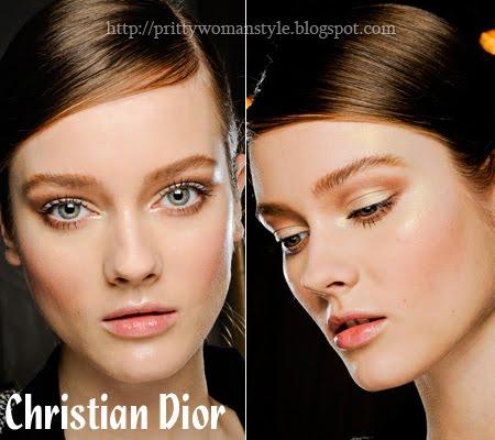 Златист грим Christian Dior