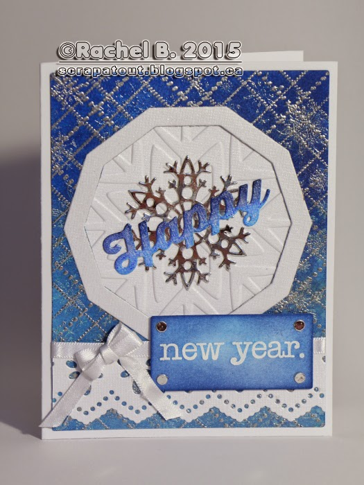 Card Impression Obsession Cover-A-Card Winter