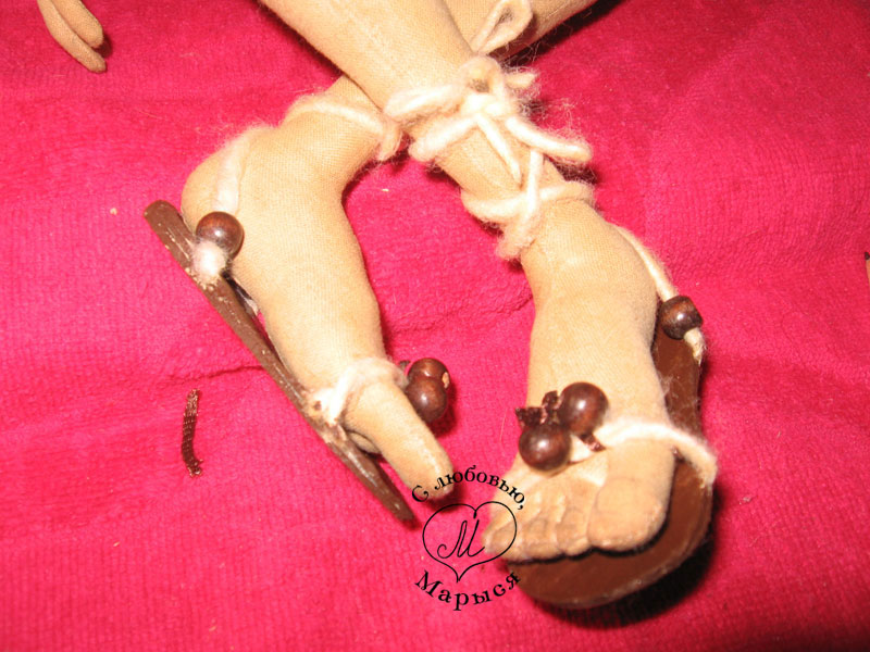 Как сделать босоножки для кукол