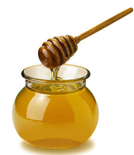 honey using burn remedy