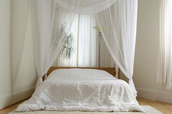 Fabulous White Bedroom with Curtains 550 x 365 · 19 kB · jpeg