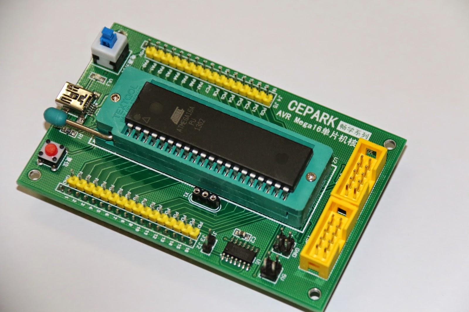 CEPARK AVR Mega 16