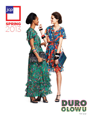 Duro Olowu jcpenney collabo - Lookbook cover - iloveankara.blogspot.co.uk