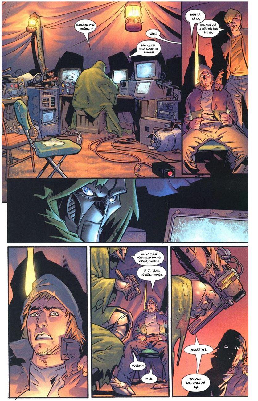 Ultimate Fantastic Four chap 10 - Trang 10