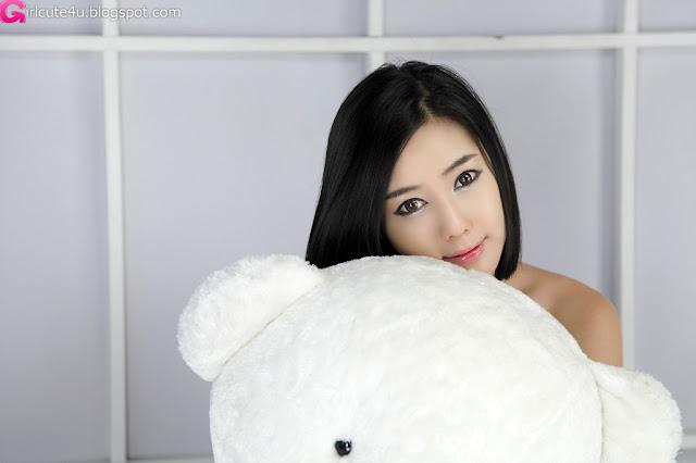 5 Kim Ha Yul - Ruffle Mini Dress-very cute asian girl-girlcute4u.blogspot.com