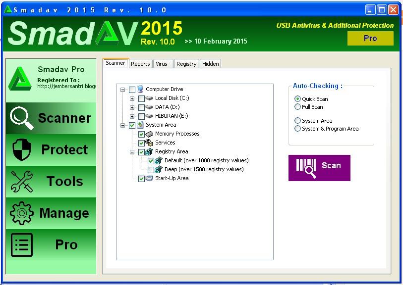 Smadav Pro Rev 10.0.0 screenshot
