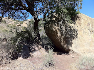 valley entrance rock