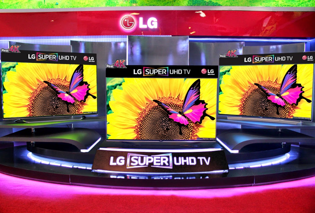 LG Super Ultra HD TVs