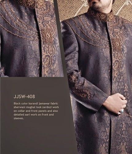Junaid Jamshed Wedding Suits for Men