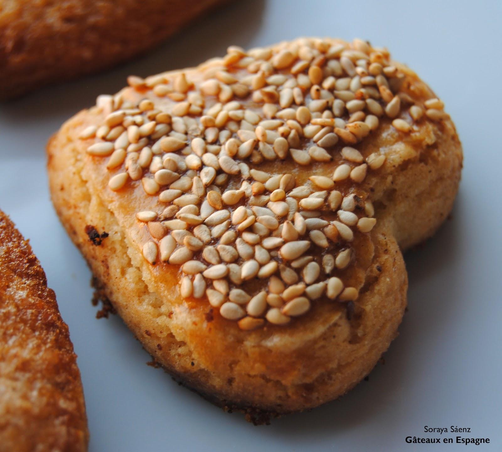 g u00c2teaux en espagne  les biscuits sabl u00e9s espagnols  les